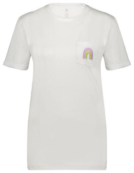 t-shirt maat XS/S regenboog - 14590484 - HEMA