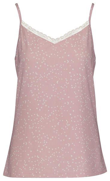 damespyjama lichtroze lichtroze - 1000018082 - HEMA