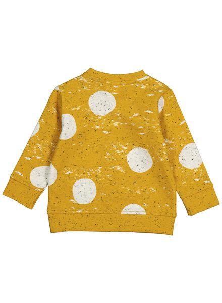 babysweater geel geel - 1000014261 - HEMA