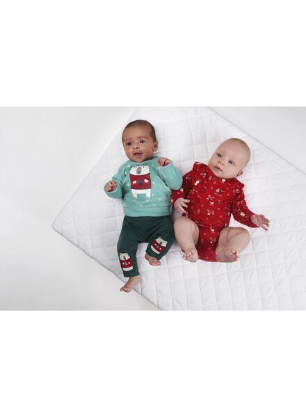 newborn sweater blauw blauw - 1000010718 - HEMA