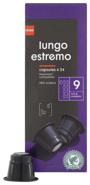 koffiecups lungo estremo - 24 stuks - 17180004 - HEMA
