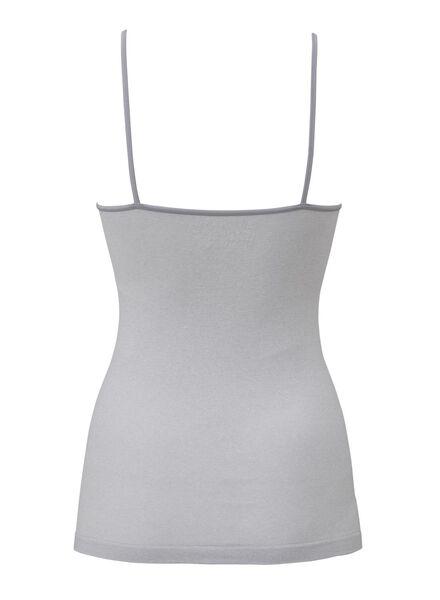 dameshemd naadloos grijsmelange grijsmelange - 1000006546 - HEMA