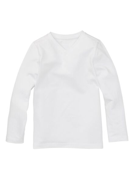 2-pak kinder t-shirt - biologisch katoen wi wi - 1000003432 - HEMA