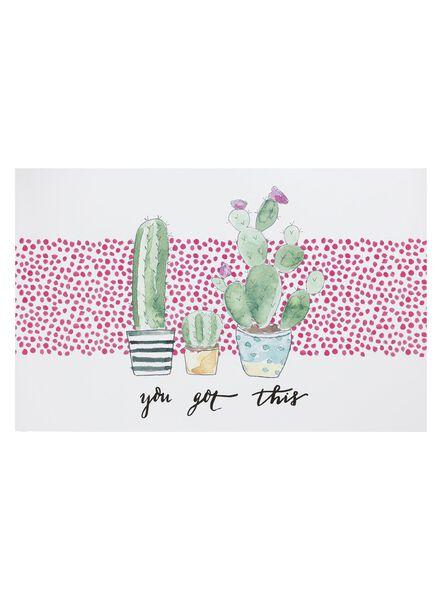 poster cactus - 60150172 - HEMA