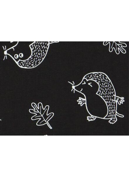 romper met bamboe zwart zwart - 1000015353 - HEMA
