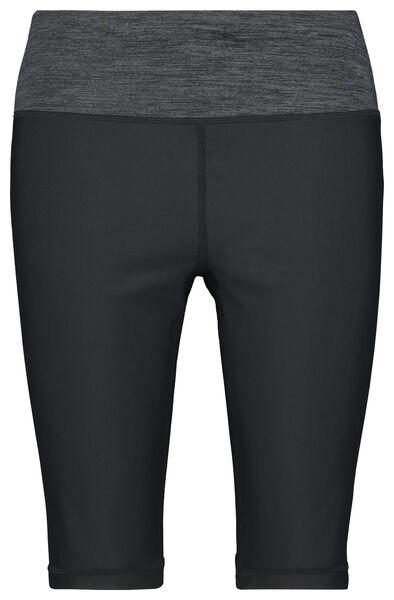 dames sportbiker kort zwart zwart - 1000022875 - HEMA