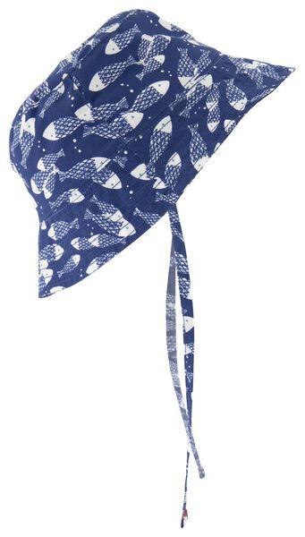 babyhoed blauw blauw - 1000018541 - HEMA