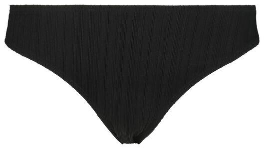 dames bikinislip zwart zwart - 1000017947 - HEMA