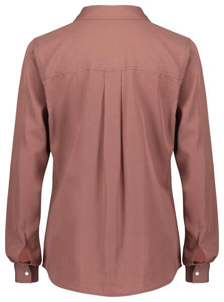damesblouse roze XL - 36208354 - HEMA