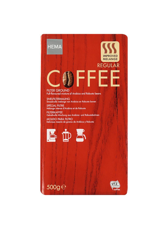 filterkoffie regular 500 gram