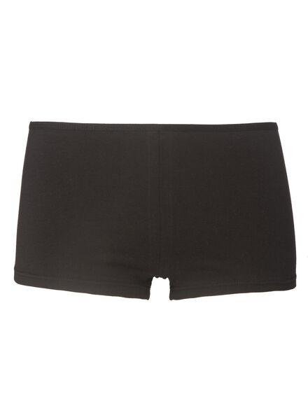 3-pak knickers zwart zwart - 1000001991 - HEMA