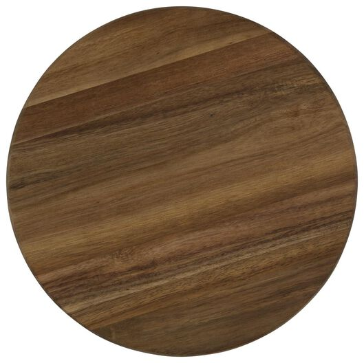 draaibord - Ø 32 cm - acaciahout - 80610200 - HEMA