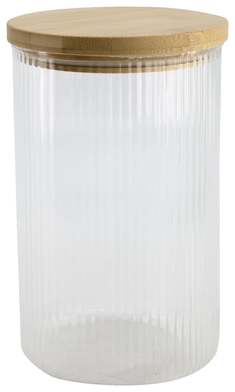 HEMA Voorraadpot Glas 1.7L Gestreept