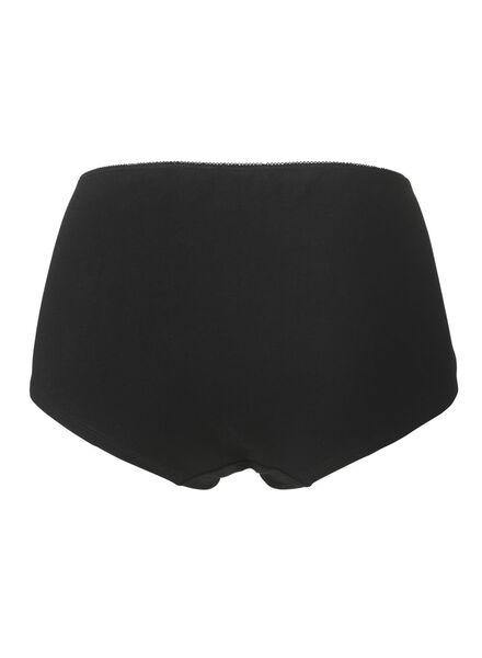 damesboxer zwart zwart - 1000006539 - HEMA