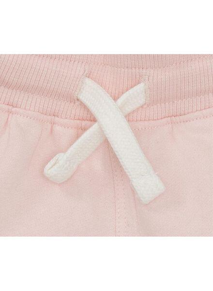 baby sweatbroek lichtroze lichtroze - 1000010891 - HEMA