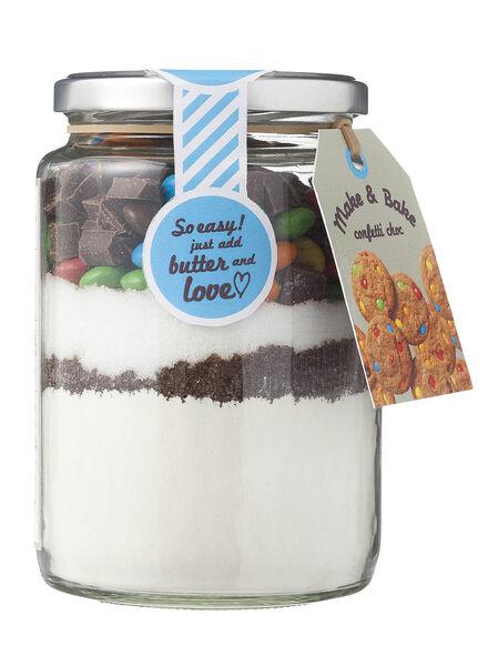 Make & Bake confetti - 10260086 - HEMA
