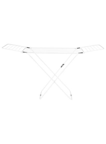 droogrek met inklapbare vleugels - 180 cm - wit - 20520042 - HEMA