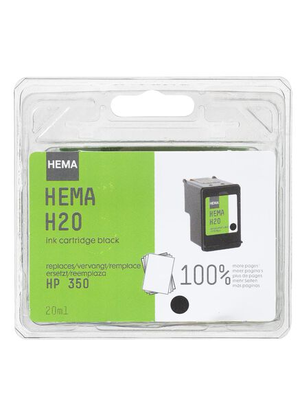 H20 vervangt HP350 - 38390307 - HEMA