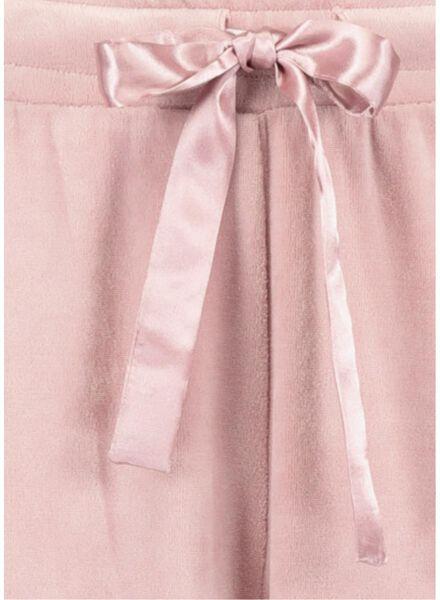 dames pyjamabroek roze roze - 1000016834 - HEMA