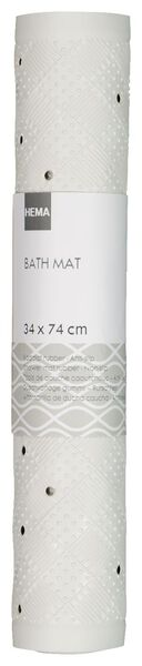 badmat antislip 34x74 rubber - 80320009 - HEMA