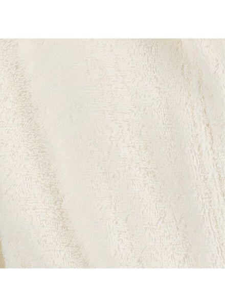 kinderbadjas katoen gebroken wit gebroken wit - 1000014948 - HEMA