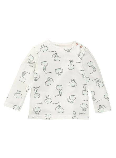 baby meisjes pyjama wit wit - 1000004998 - HEMA