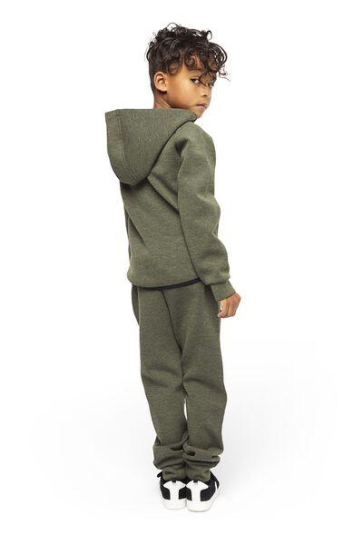 kindersweatbroek legergroen legergroen - 1000020589 - HEMA