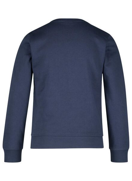 kindersweater donkerblauw donkerblauw - 1000015457 - HEMA