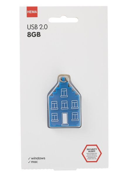 USB-stick grachtenpand 8GB - 39500002 - HEMA