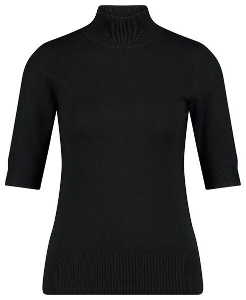 dames top zwart M - 36278062 - HEMA