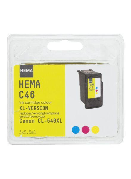 C46 vervangt Canon CL-546XL - 38399220 - HEMA