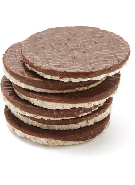 rijstwafels melkchocolade 2x3 stuks - 10840062 - HEMA