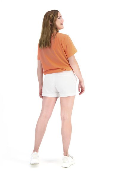 dames t-shirt Siepie kater komt later koraal L - 36292578 - HEMA