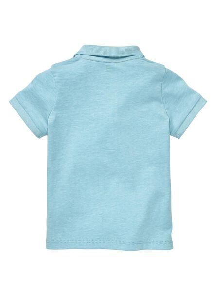 baby polo blauw blauw - 1000012977 - HEMA