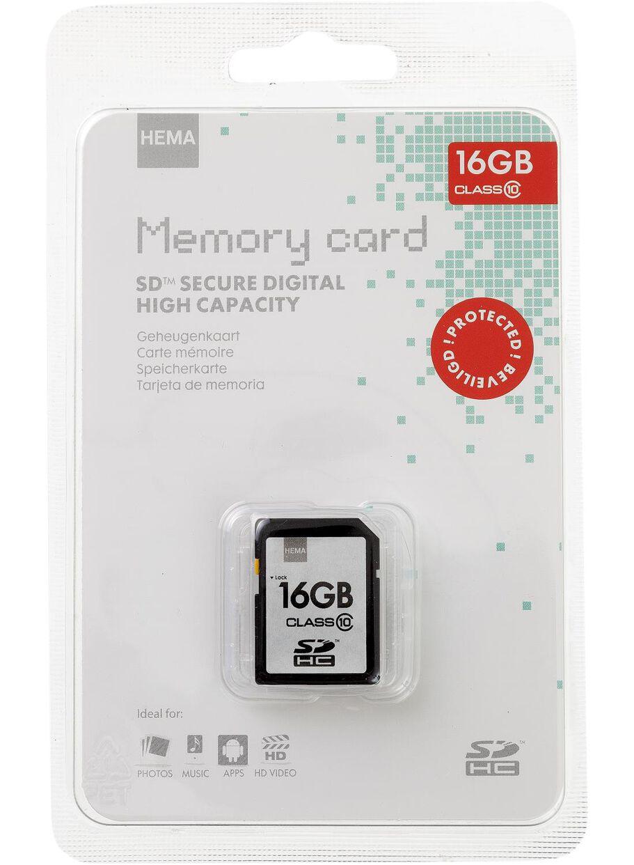 sd kaart 4gb hema geheugenkaart SDHC 16 GB   HEMA