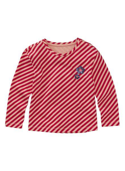 kinder t-shirt rood rood - 1000011383 - HEMA