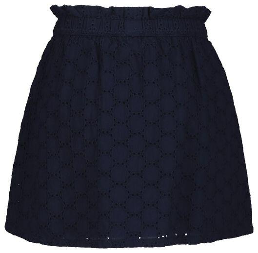 kinderrok donkerblauw donkerblauw - 1000019003 - HEMA