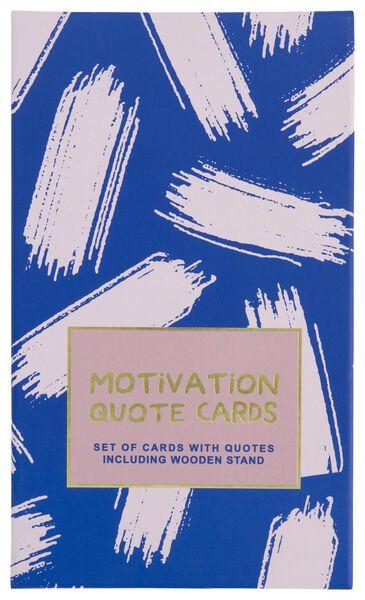 quote kaarten kleurrijk - 12 stuks - 61140056 - HEMA