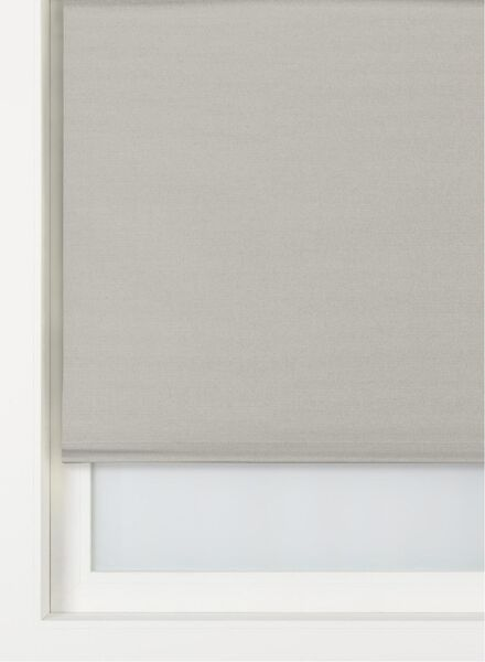 rolgordijn vlamvertragend lichtdoorlatend taupe taupe - 1000016394 - HEMA