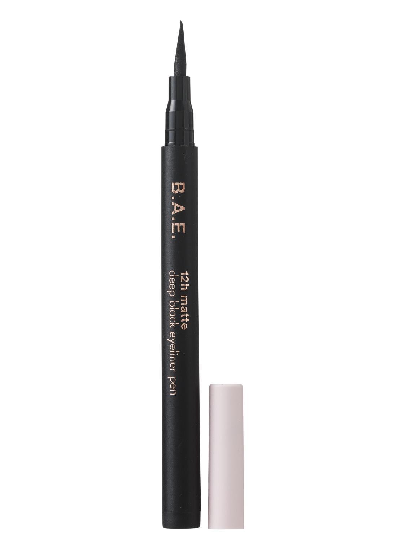 Afbeelding van B.A.E. B.A.E. Eyeliner Pen 12h Mat Deep Black