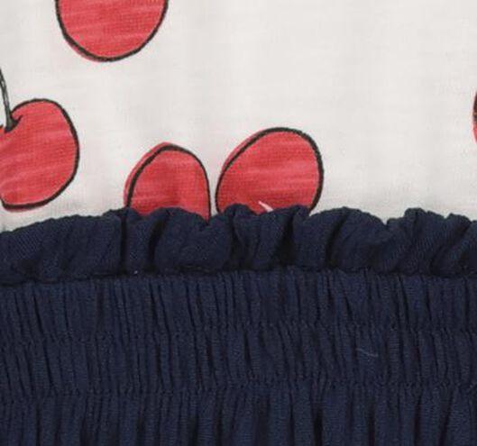 kinderjurk donkerblauw donkerblauw - 1000019014 - HEMA