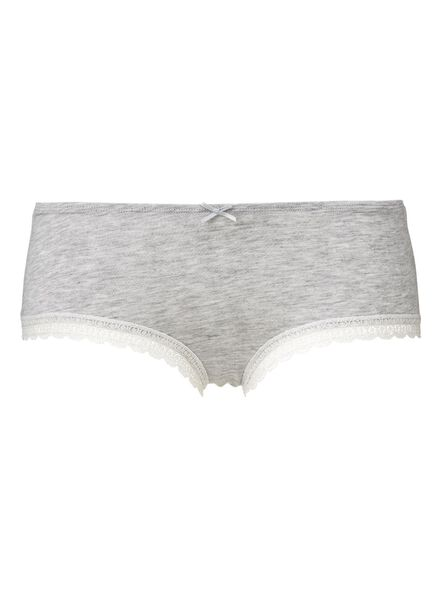 dameshipster grijsmelange grijsmelange - 1000006599 - HEMA
