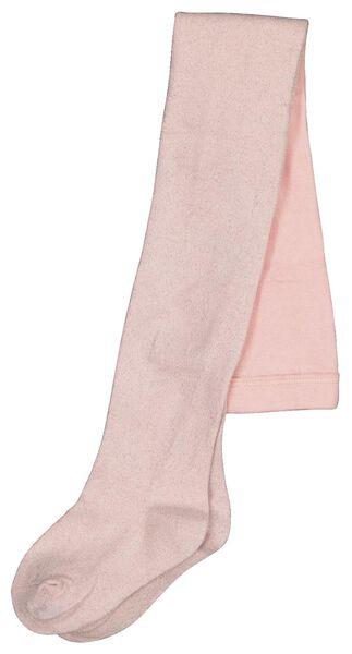 kindermaillot glitters roze 98/104 - 4386582 - HEMA