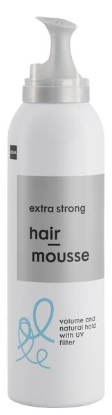 haarmousse extra strong 200 ml - 11077103 - HEMA