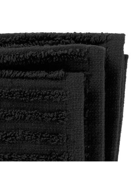 vaatdoekjes - katoen - zwart - 3 stuks - 5480203 - HEMA