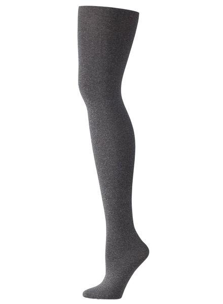 panty 60 denier grijsmelange grijsmelange - 1000001116 - HEMA