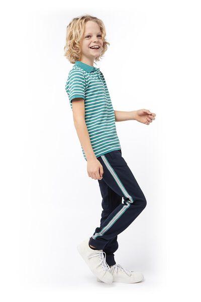 kinderpolo grijsmelange grijsmelange - 1000017725 - HEMA