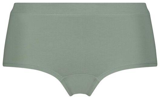damesboxer real lasting cotton groen - 1000022959 - HEMA