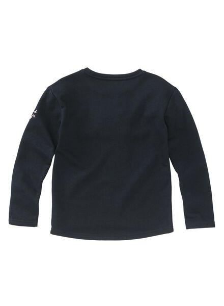 kindersweater donkerblauw - 1000008831 - HEMA