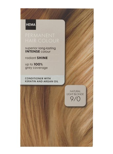 haarkleuring light blond 9/0 - 11050012 - HEMA